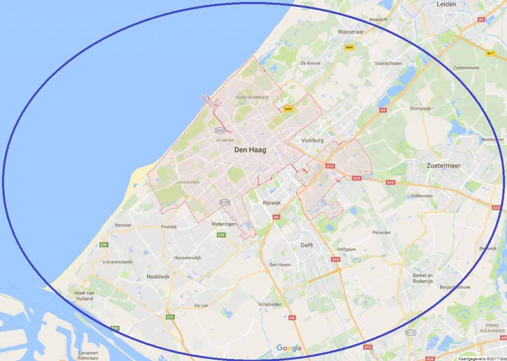 Slotenmaker Den Haag Werkgebied